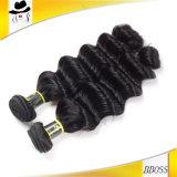 Черный уток волос 7A бразильский Remy