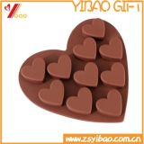 Venda por grosso Eco-Friendly 10 Células Chocolate de Silicone Molde/molde