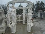 Handgemachte Marmorskulptur für Garten-Dekoration