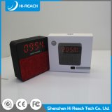 Haut-parleur portatif sans fil de Bluetooth de multimédia mini avec la fonction d'horloge
