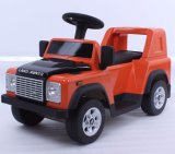 Les gosses de Land Rover ont autorisé la conduite sur le jouet de véhicule électrique