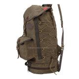 Form-Freizeit-beiläufiger Segeltuch-Rucksack für Reisen