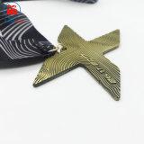 Medaille van de Sport van Triathlon van de Marathon van de Brief van de douane de Lopende