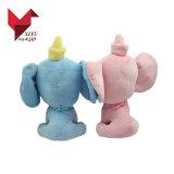 Anunciando o brinquedo do elefante do luxuoso do brinquedo do bebê do OEM