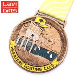 La reproduction multiforme de cuivre antique classique de concurrence en métal de pente de dessus de cadeau de promotion attribue la médaille en métal de l'honneur