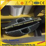El disipador de calor de aluminio solicita Industy ferroviario