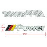 カスタム金属車のバッジ、二重テープが付いている車の紋章