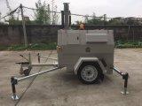 Van de Diesel van verticale Hydraulische Telescopische Mobiele LEIDENE van Pool de Draagbare Lichte Kubota van de Toren Mijnbouw 10m Bouw van de Generator