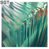 明確な浮遊物によって強くされる階段手すりガラスの手すり