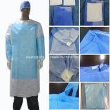 Стерильные усиленные нетканого материала SMS хирургических платье