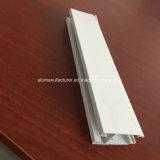 Grand dos, profil rond et différent d'extrusion d'alliage d'aluminium pour la porte et tube 75 de guichet