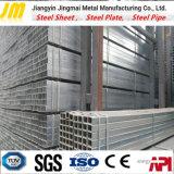 Condutture d'acciaio quadrate galvanizzate a pareti spesse di produzione del tubo d'acciaio