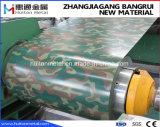 Bobina de aço com revestimento de cor com Design Militar