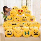 Spielt weiche Baby-Kinder angefüllter Kissen-Baby-Plüsch Emoji Kissen