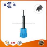 2/3/4/5 de alta precisión de flautas de carburo sólido Fresa Mango estable con recubrimiento Altin usado en torno CNC personalizado disponible