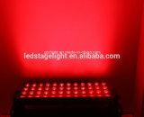 indicatore luminoso esterno della lavata dell'indicatore luminoso di 60PCS *3W RGBW/parete della parte esterna LED