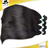 O cabelo humano da alta qualidade, pode ser cabelo do brasileiro da cor