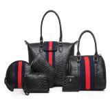 Dame Handbag Woman 6 de Handtassen van de Ontwerper Pu van de Zak van PCs Sholder