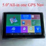 """5.0 """" voiture populaire chariot Marine Navigation GPS avec Google Android Dash, transmetteur FM, de la caméra AV-in pour le stationnement de la caméra système GPS Navigator, TMC Appareil de suivi"""