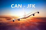 De Vracht van de Lucht van de lading van Guangzhou aan J.F. Kennedy Airport