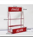 Koks-Getränkecountertop-Draht-Eisen-Bildschirmanzeige-Zahnstange speichern