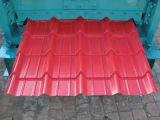 Roulis glacé en aluminium de tuile de toiture formant la machine