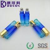 青緑カラーガラスローラーのびんのための10ml勾配のローラーのびん