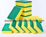 Brosse de nettoyage de la cuisine d'éponge tampon à récurer