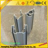 Profil en aluminium anodisé personnalisé d'extrusion pour le panneau de partition de bureau