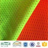 Tessuto di maglia di Fluorscent per la maglia di sicurezza