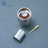 Pince à sertir mâle coaxial RF N Connecteur pour câble RG213
