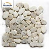 熱い販売の大理石のモザイク屋外の床タイルのマットの小石の石のモザイク・タイル