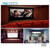 painel acústico decorativo amigável de fibra de poliéster de 15mm Ecol para o cinema