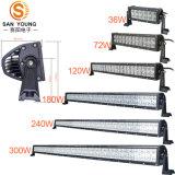 A barra de luz LED CREE automóvel 12V 20 polegada para a condução do veículo e-MARK ECE