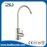 Nickel sans plomb de robinet de robinet de filtration d'eau potable d'acier inoxydable balayé