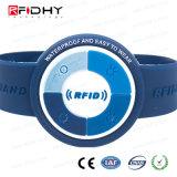 リゾートのための耐久(r) EV1 4K RFID MIFARE (r) DESFireのリスト・ストラップ