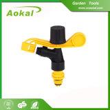 Spruzzatore di plastica di impulso di irrigazione a pioggia di impulso del giardino