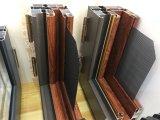 De style européen High-Grade et en Amérique du bois d'aluminium Fenêtre à battant avec plein divisé Lites