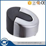 Acier inoxydable 201/304 taquets de tube en caoutchouc de Doorstops