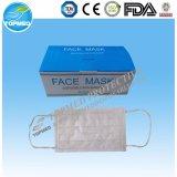 Wegwerf3-Ply Gesichtsmaske des vliesstoff-pp. nichtgewebte BEF-99%