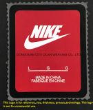 Impresión de transferencia de calor de silicona parche ampliamente utilizado para el logotipo de la marca de ropa