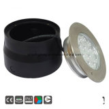 316 acero inoxidable IP67 de Metro de LED RGB LED/ luz enterrada