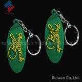 Keyring PVC цветастой супер формы диаманта мягкий для сувениров