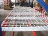 金網の版の頑丈な倉庫の記憶は産業鋼鉄棚付けを悩ます