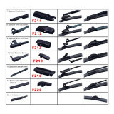 ヨーロッパの熱い販売法の自動予備品のクリアビュー平らなワイパー刃のワイパーの刃車ワイパー