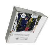Boîte cadeau d'envoi à paroi simple pour les vêtements de l'emballage en carton