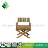 호텔 단단한 나무 가구 제조자 또는 제작자 주문품 옥외 Leiture 의자는 티크와 직물의 만든다