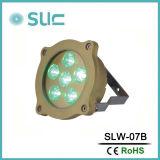 6*3W RGB LED 수중 수영풀 빛