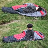 Cire W/Rの風の監視ミイラの大人の寝袋をBackpacking旅行のハイキング