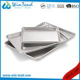 Plateau de four de traitement au four de papier d'aluminium